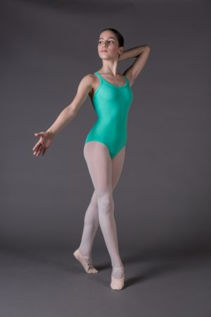 Body Danza Bambina a doppia bretella incroci dietro