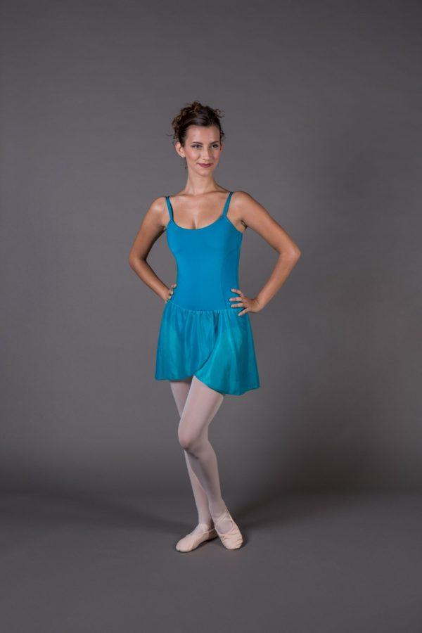 Body Danza Donna Bretelle gonnellino a portafoglio
