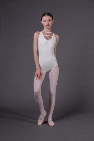 Body Danza bretelle incrocio dietro scollo avanti a V