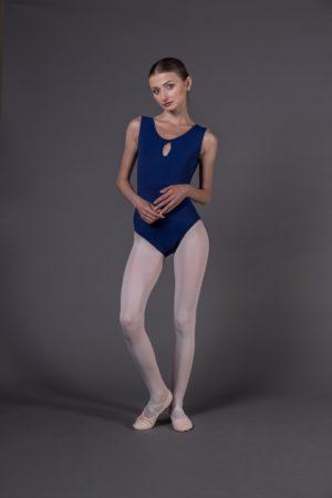 Body Danza donna canotta disegno avanti ampia apertura dietro