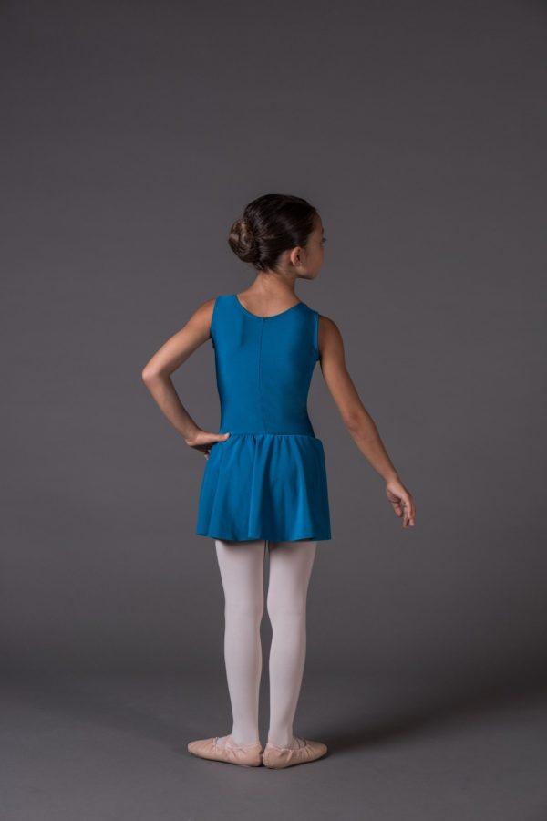 Body Danza Bambina a canotta scollo rotondo