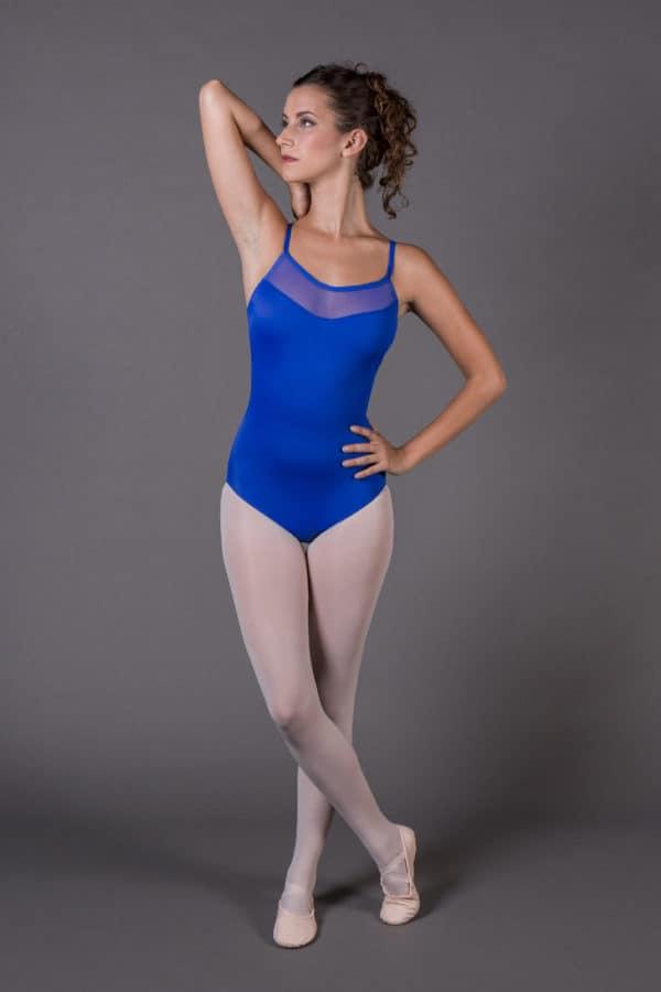 Women's dance strapped leotard