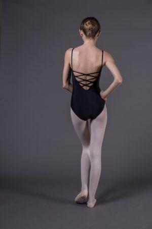 Body Danza donna a bretelle che incrociano dietro