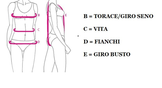 come prendere le misure body danza