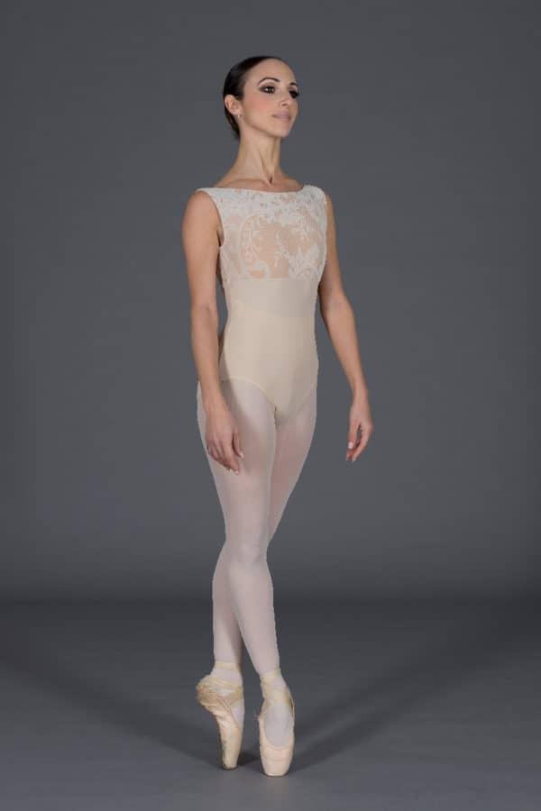 [:it]Body danza donna in floccato [:]