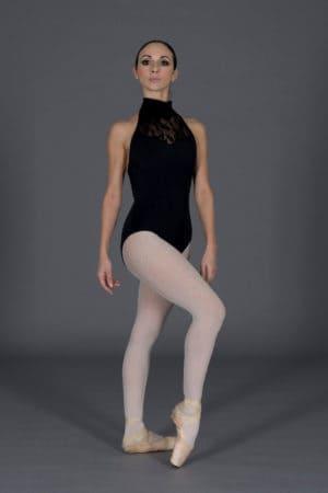 Body danza donna scollo a pistagna