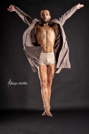 Pantaloncino per danza uomo
