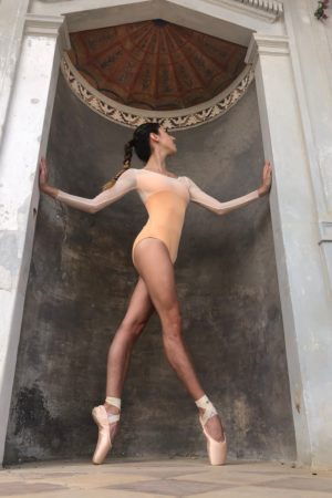 Body manica lunga in rete