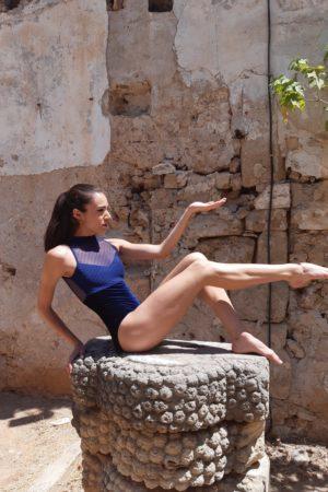 Body Danza a pistagna con zip