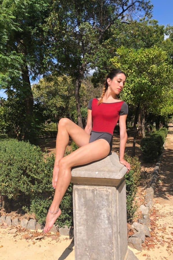 Body Danza donna manica corta