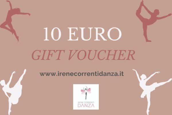 Gift Card 10 Irene Correnti Danza