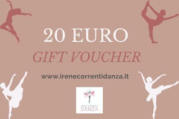 Gift Card 20 Irene Correnti Danza